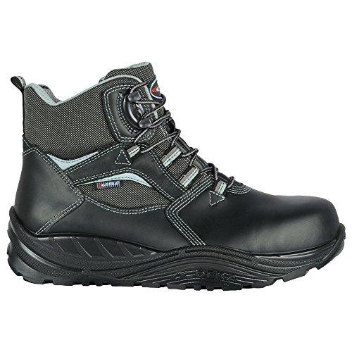 Cofra 40-55230001-39 - Seguridad Botas Shoden S3 Ci Src Maxi Confort 55230-001 altos zapatos, Negro, Tamaño 39