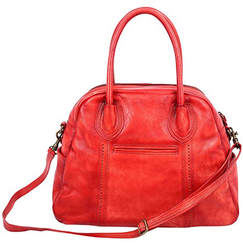 old-trend-leather-hobo-vintage-tote-tomato