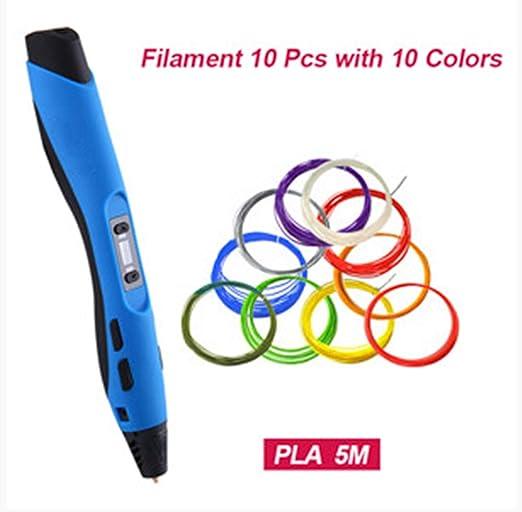 3d Impresión Pluma Sl-300 Con 20 Piezas De Impresión Filamentos ...