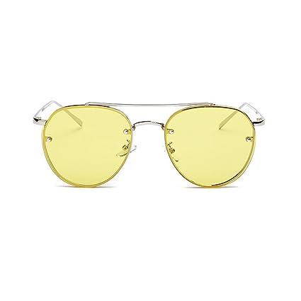 Amazon.com: Fan-Ling - Gafas de sol circulares para hombre y ...