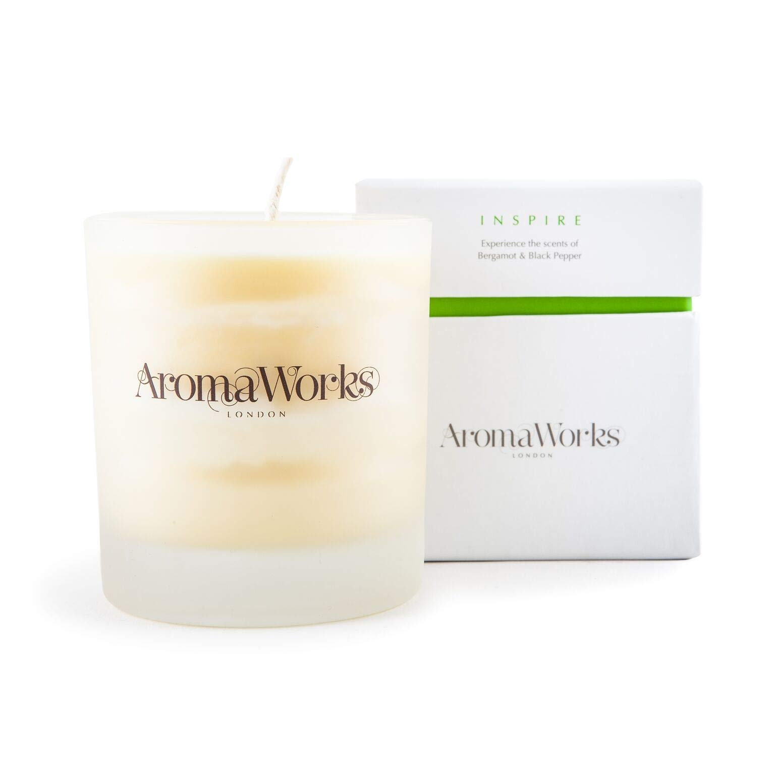 Inspire Candle by Aromaworks for Unisex - 7.76 oz Candle