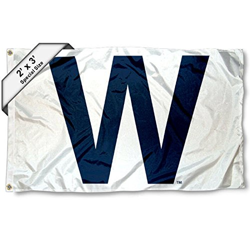 Chicago Cubs W Win 2x3 Foot Flag for sale  Delivered anywhere in USA