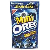Nabisco Oreo Mini Chocolate Sandwiches Snak Saks, 8 oz (Pack of 3) Review