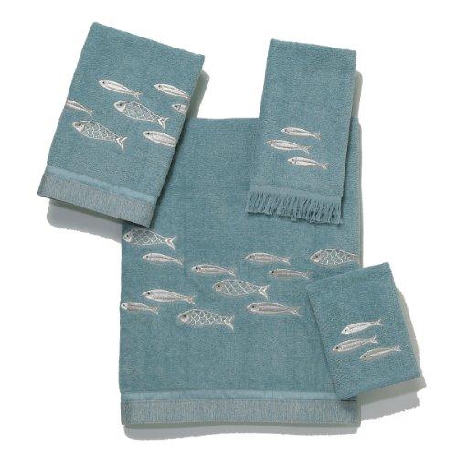 Genial Avanti Nantucket 4 Piece Towel Set, Mineral