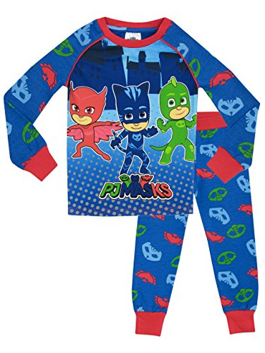 PJ Masks Boys' PJ Masks Pajamas Size 5 (Pajamas Superhero)