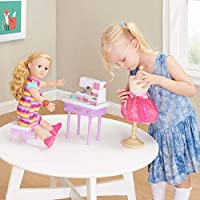 Amazon.com: myLife Brand Products My Life As Doll - Juego de ...