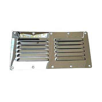 Rejilla de ventilación cuadrada de acero inoxidable para ...