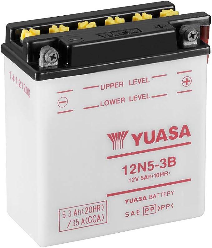 Yuasa Batterie 12n5 3b Offen Ohne Saeure Auto