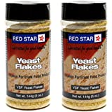 Red Star Nutritional Yeast - VSF Mini Flake, 5 Oz Each - Pack of 2