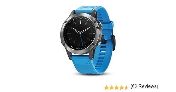 Garmin 010 – 01688 – 40 Quatix 5 GPS de Smart Watch Marino: Amazon ...