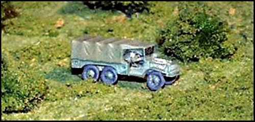 WWII Micro Armour - United States - Softskins and 1-1/2 Ton Weapons Carrier