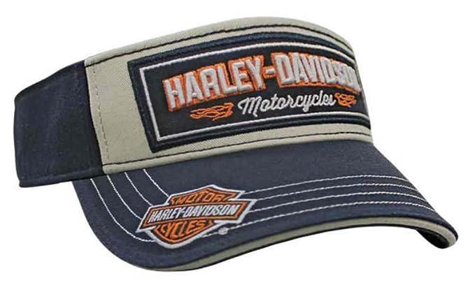 43b53bad2dca1 Harley-Davidson Men s Embroidered H-D Tread Visor