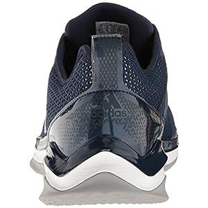 Adidas Men's Speed Trainer 3.0 Shoes, Collegiate Navy/Metallic Silver/White, 10 Medium US