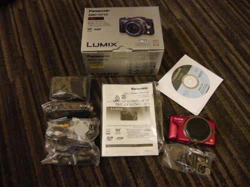 Panasonic Lumix DMC-GF3 12 MP Micro 4/3 Mirrorless Digita...
