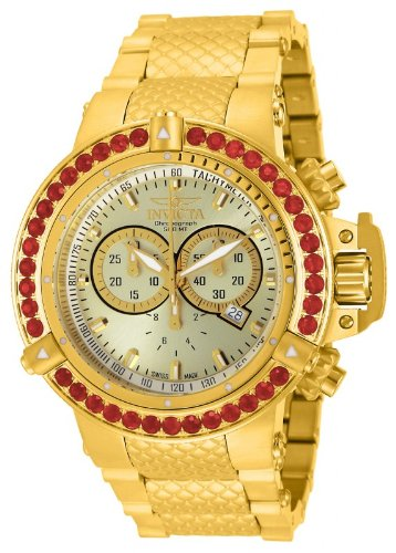 invicta-mens-subaqua-noma-iii-swiss-made-chronograph-fire-opel-bezel-18k-gold-plated-watch-14760