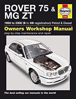 rover 75 and mg zt petrol and diesel service and repair manual 1999 rh amazon co uk Mygmlink Owner's Manual Haynes Manual for Quads