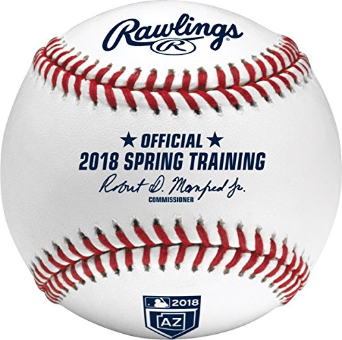 Rawlings Official 2018 Arizona Spring Training MLB Game Baseball Boxed