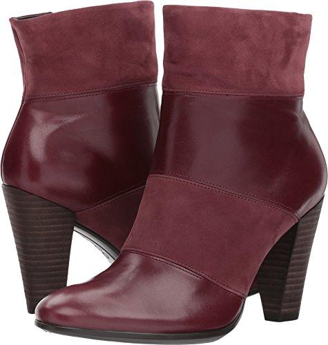 - ECCO Women's Women's Shape 75 Modern Ankle Bootie, Bordeaux/Bordeaux, 38 EU/7-7.5 US