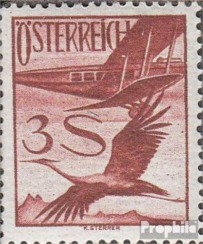 Prophila Collection Österreich 485 1925 Flugpost-Ausgabe (Briefmarken für Sammler) Luftfahrt