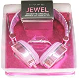 Hype JEWEL HY-955-PNK Pink 3.5mm Stereo Headset Headphones w. Mic & Answer Button