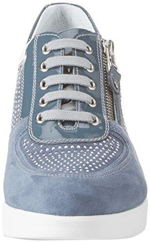 Donna Nero P805060d Blu Sneaker Giardini qz1nY4r1t