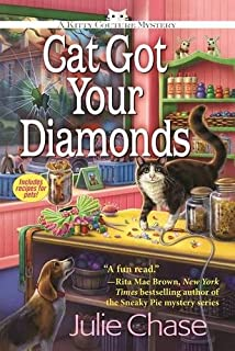 Book Cover: Cat Got Your Diamonds: A Kitty Couture Mystery