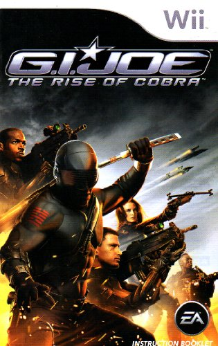 G.I. Joe - The Rise of Cobra Wii Instruction Booklet (Nintendo Wii Manual Only - NO GAME) [Pamphlet