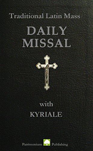Traditional Latin Mass Daily Missal (Latin Missal)