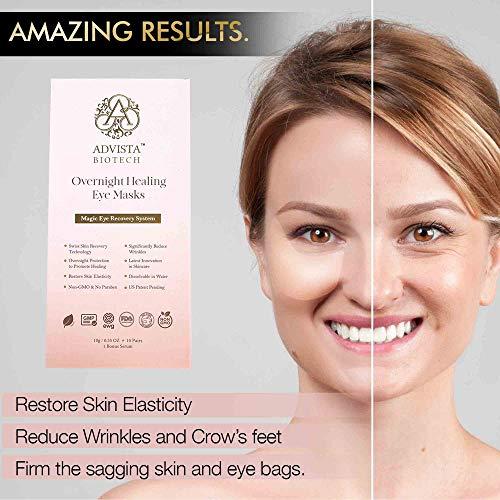 Award-Winning Anti-aging Patented Wrinkle Gel Mask System (Eye Masks Trial Size)