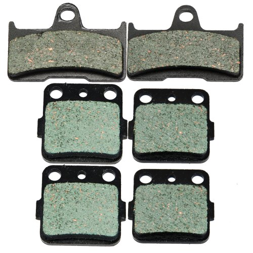 Grizzly Front (2002-2008 YAMAHA YFM 660 Grizzly Hunter Front and Rear Kevlar Carbon Brake Pads)