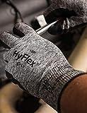 Ansell HyFlex 11-801 Nylon Glove, Black Foam