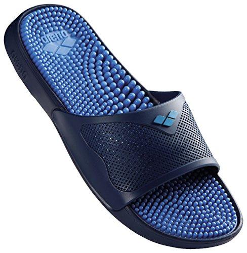 Arena de Playa Grip Unisex Solid Piscina Zapatos Fastblue 044 y Hook Azul Marco X Adulto qwXSYrq