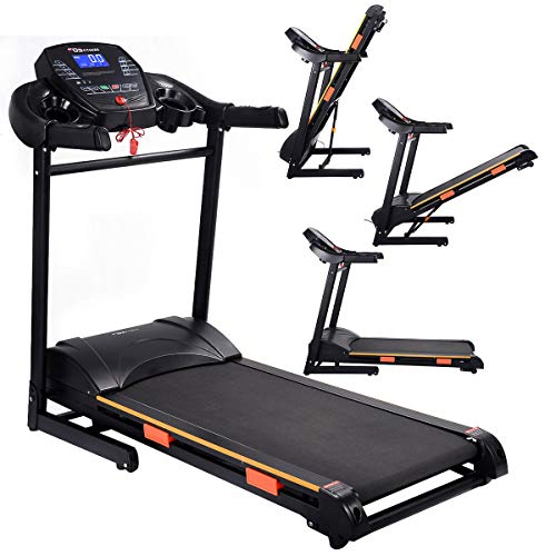 SD LIFE 1000W Folding Treadmill Electric Motorized Power Running Jogging Machine