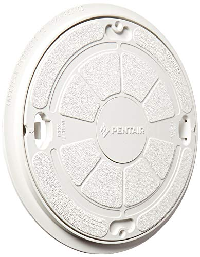 Pentair 85000400 White Complete Lid/Ring Seat Replacement Admiral Pool and Spa Skimmer