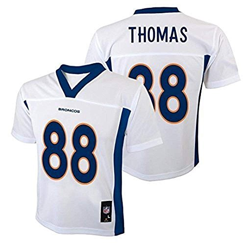 Demaryius Thomas Denver Broncos NFL Youth White Road Mid-Tier Jersey (Youth X-Large 18-20) ()