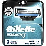 Gillette Mach3 Men's Razor Blades, 2 Blade Refills