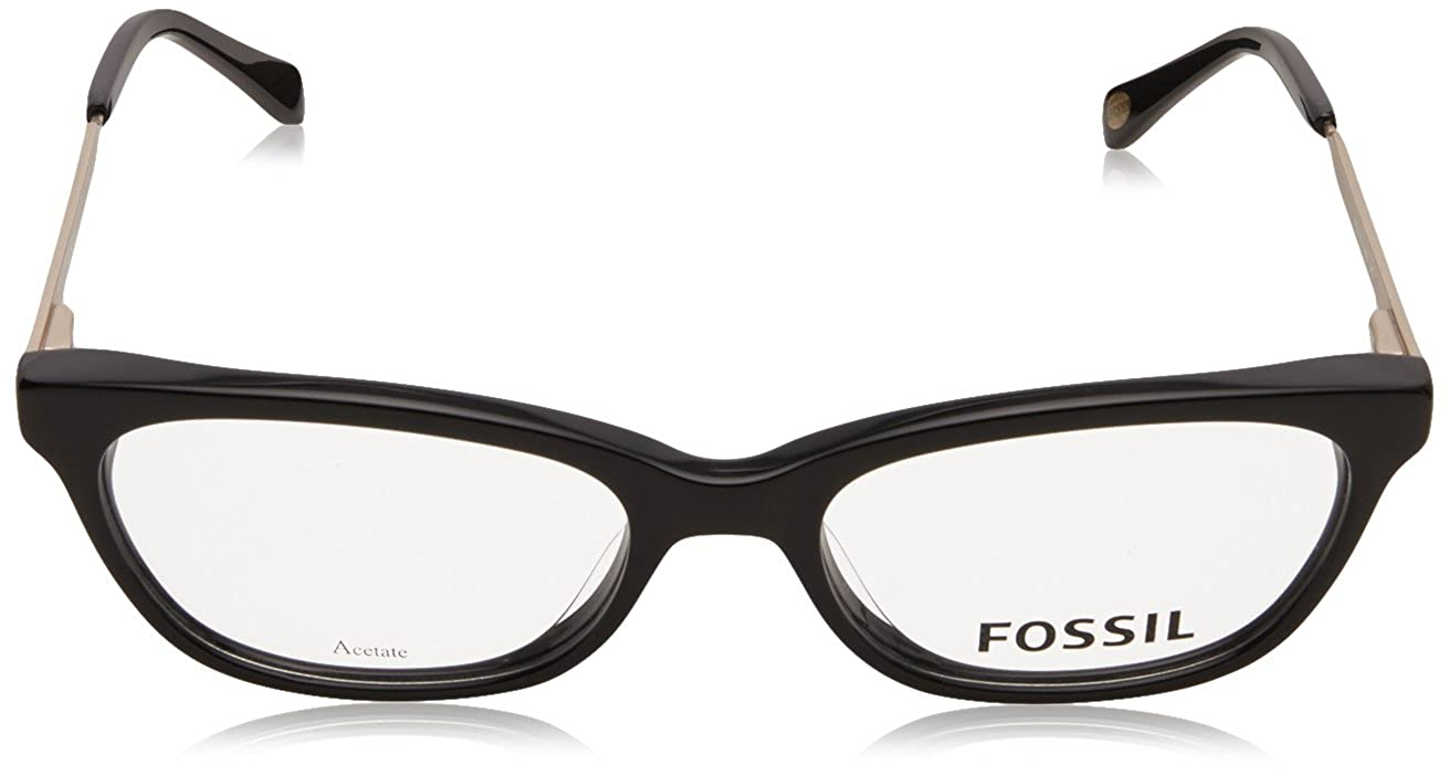ae41cbe1ff Fossil Fos 7010 Eyeglasses 0807 Black 51-17-140  Amazon.co.uk  Shoes   Bags