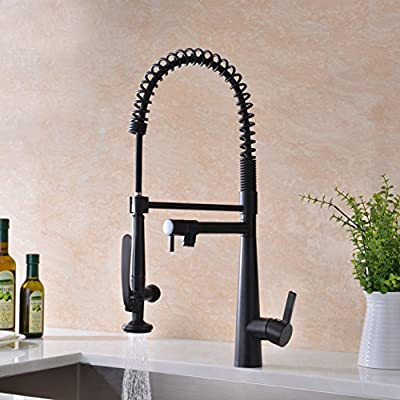 GICASA Commercial Style Pull Down Kitchen Faucet