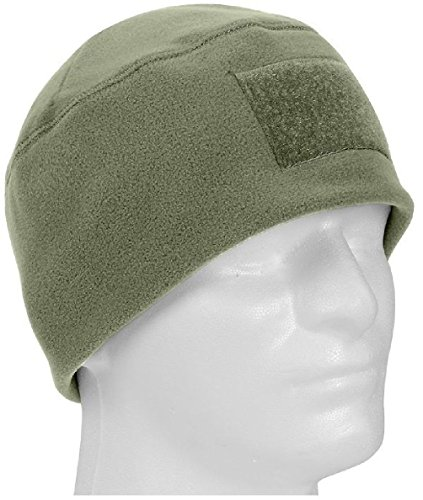 Foliage Green Military Winter Polar Fleece Hat Beanie Watch Cap