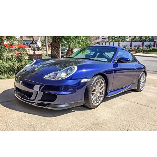 KBD Body Kits Compatible with Porsche 996 1999-2001 / Boxster 1997-2004 GT 3 Look 1 Piece Flexfit Polyurethane Front Bumper. Extremely Durable, Easy Installation, Guaranteed Fitment, Made in the -
