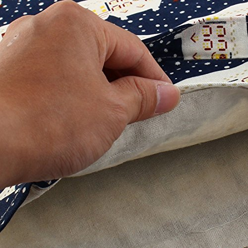 house Navy Handbag Pack Double Sourcingmap Pocket Layer Pouch Single Shoulder Bag Blue Tote Hand Outdoor Travel Sports Shopping 7Z4nT
