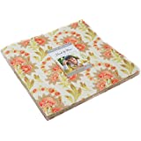 """Hazel & Plum Layer Cake, 42 - 10"""" Precut Fabric Quilt Squares By Fig Tree Quilts"""