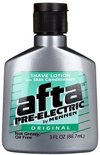 Men Shaving Conditioner Lotion (Afta Pre-Electric Shave Lotion With Skin Conditioners Original 3 oz )
