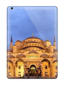 High Grade Bangongphone99 Flexible Tpu Cases For Ipad Air - Airblue Mosque