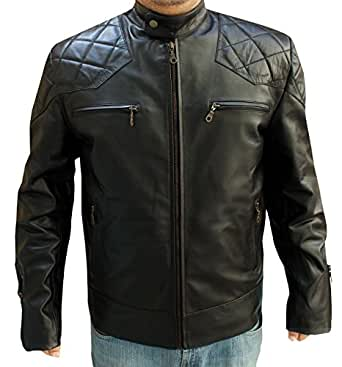 David Beckham Inspired Leather Jacket (SMALL)