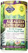 Garden of Life Perfect Food® RAW - Alkalizer & Detoxifier Organic Powder, 285g Powder
