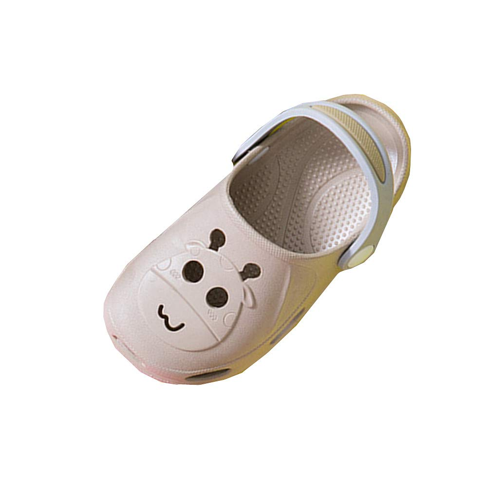 Feicuan Kids Bath Slippers Non-Slip Boys Girls Beach Pool Shoes Home Slippers