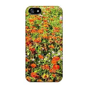 New Design Shatterproof Koz50970wNim Cases For Iphone 5/5s (flower Field)