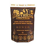 NEW – John's Killer Protein – Antioxidant Protein Blend. An ideal mix of organic cacao powder & our native whey protein. Non-GMO, gluten & soy free. Pure chocolate protein without any sweeteners.