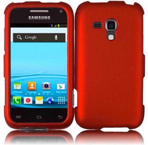 Cheap Cases For Samsung Galaxy Rush M830 Hard Cover Case Orange